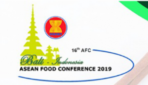 October 15 – 18,  2019 – 16th ASEAN FOOD CONFERENCE 2019